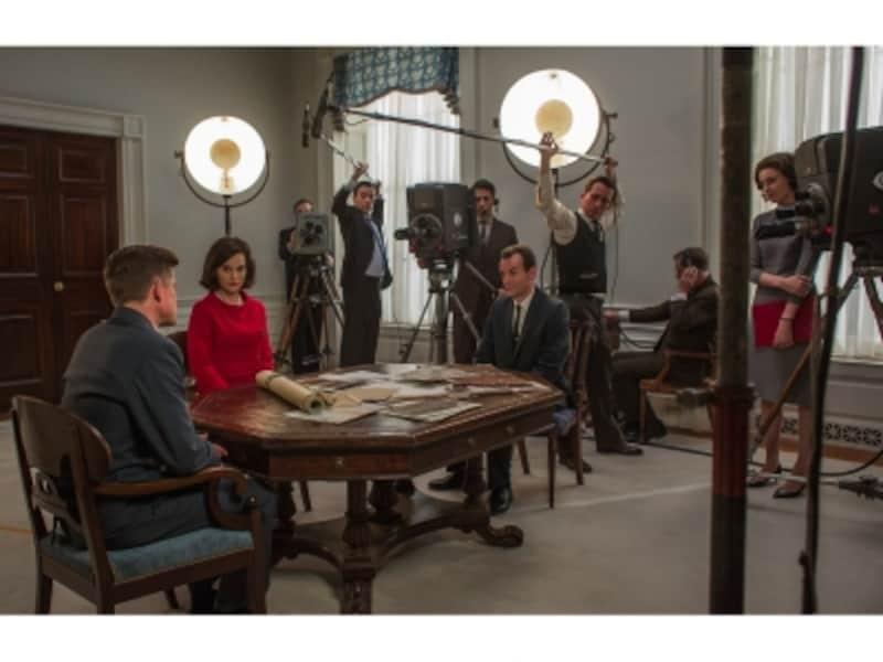 アメリカで最も愛されたケネディ大統領のイメージは、テレビの力もさることながら、ジャッキーのプロデュース力にありました。(C)2016JackieProductionsLimited