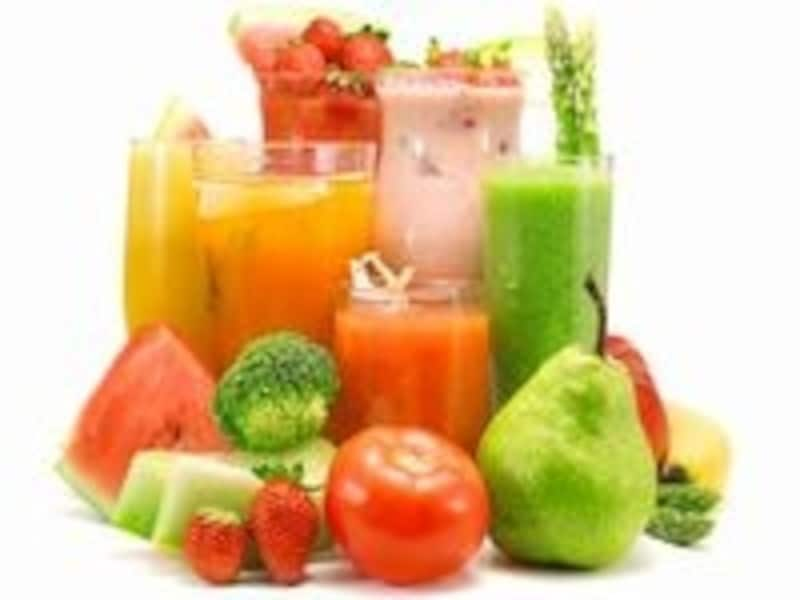 朝食は野菜ジュースで酵素補給!