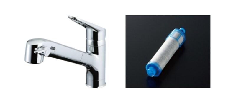 オールインワン型の浄水栓