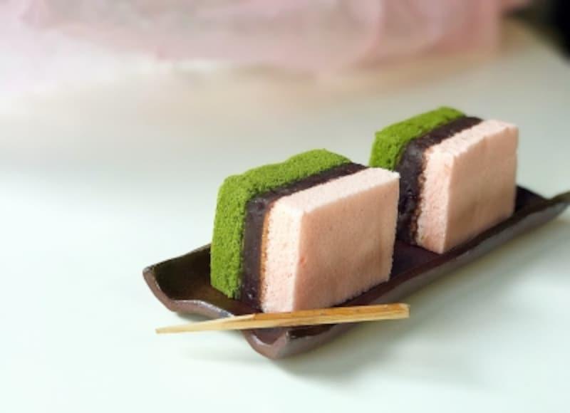 鎌倉五郎本店undefined桜の抹茶ぜんざい