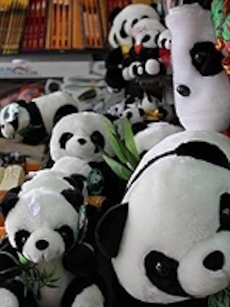 「ニイハオ!」パンダです!