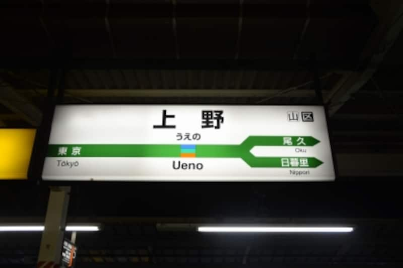 上野駅6番線