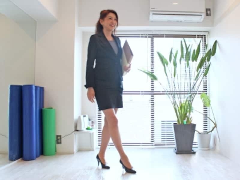 デキる女性は歩き姿も美しい!?
