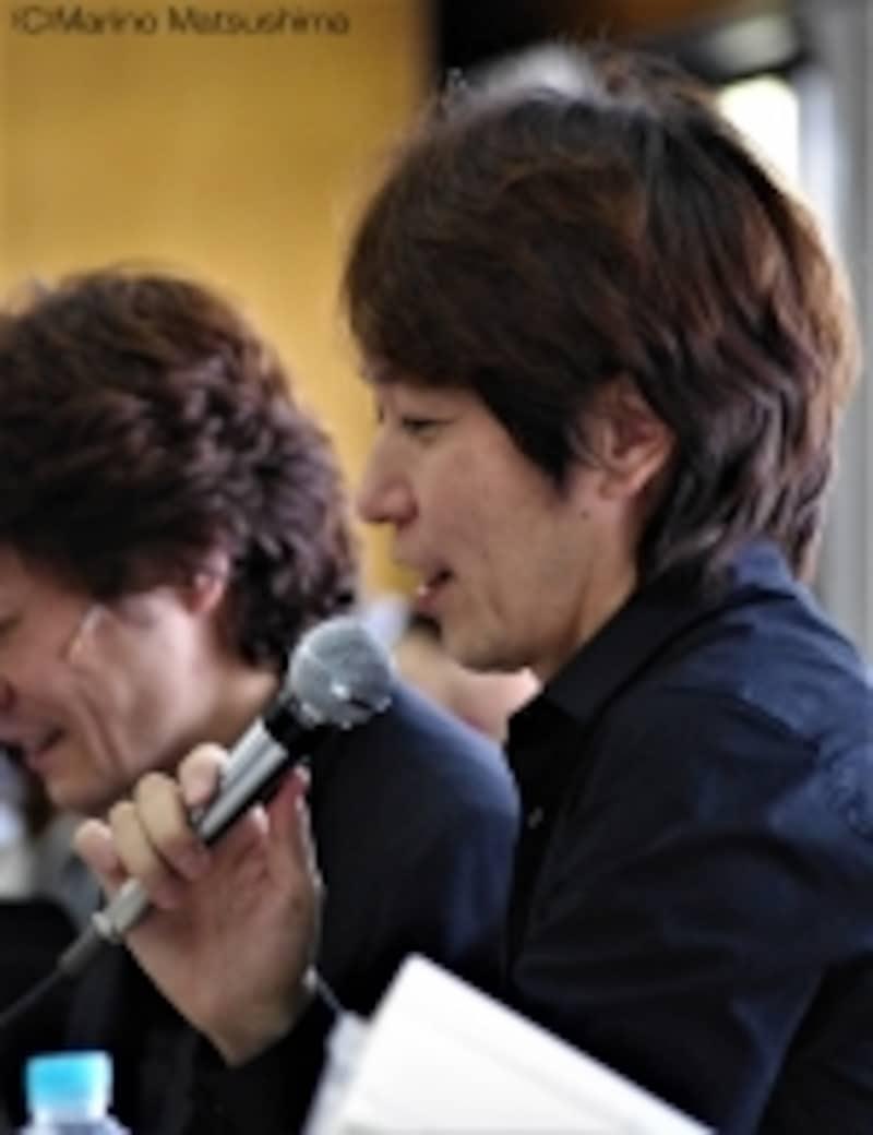 『オペラ座の怪人』稽古をまとめるスーパーバイザーの北澤裕輔さん。(C)MarinoMatsushima
