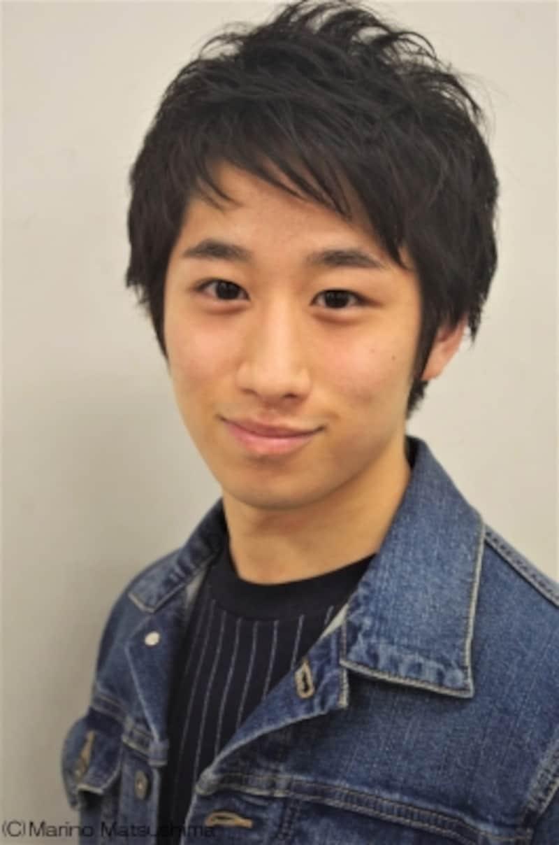 工藤広夢undefined96年宮城県出身。仙台でミュージカルを始め、TOURSミュージカル『赤毛のアン』全国ツアーを機にプロを目指す。『葉っぱのフレディ』『sign』等の舞台やDVD「HeartBeatSinging」に出演後、16年『王家の紋章』で大作ミュージカルにデビュー。同年『わたしは真悟』にも出演。(C)MarinoMatsushima