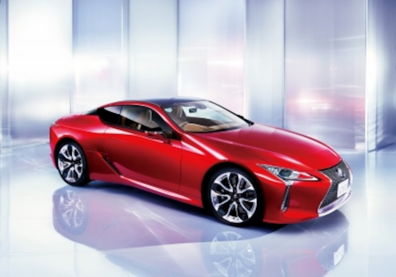 "LC500""S package""  (ラディアントレッドコントラストレイヤリング)"