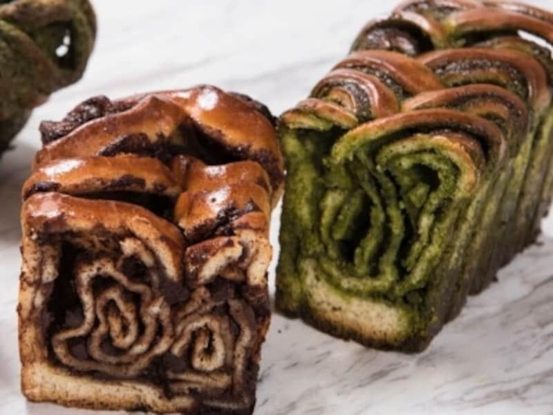 バブカ(チョコレート、抹茶)
