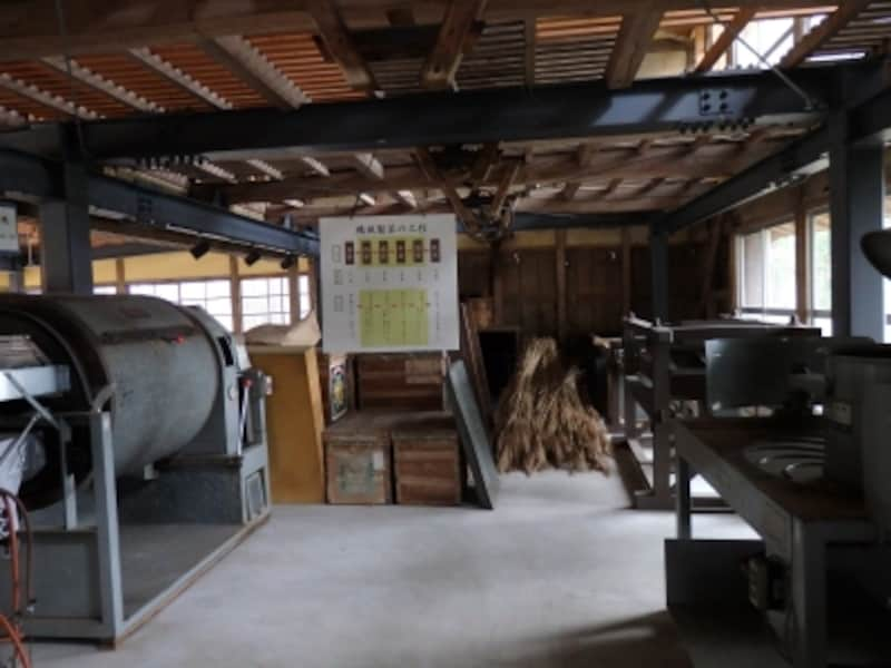 「クロスケの家」の茶工場