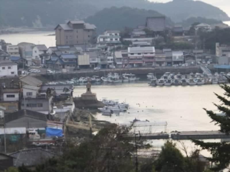 鞆の浦(10)/医王寺から鞆の港を望む