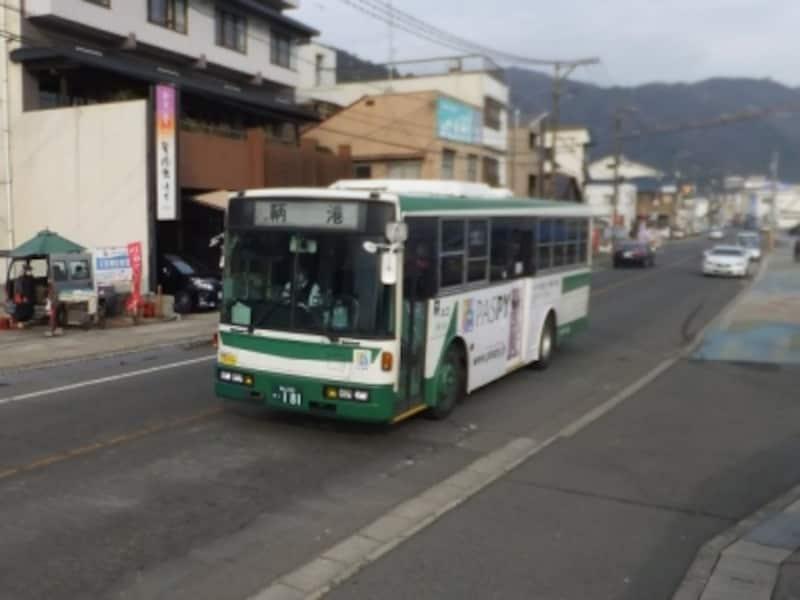 福山駅と鞆の浦を結ぶトモテツバス