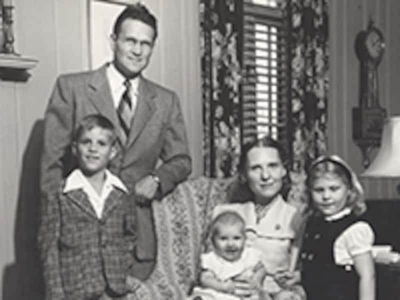 サミュエルズ夫妻と子供たち