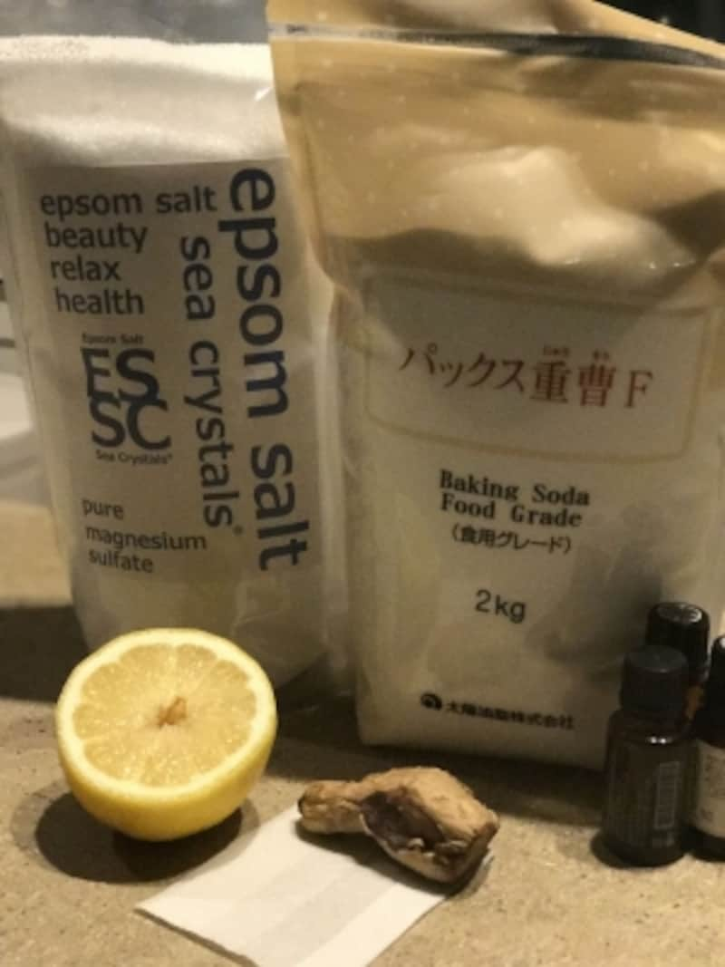 お手頃な材料で効果的なスペシャル入浴剤が作れます!