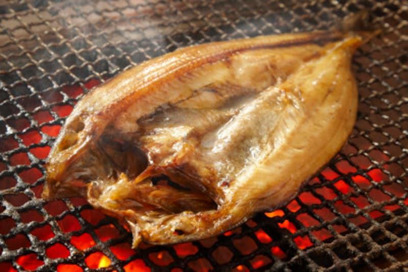 魚の干物もスモークすれば味わいがまた格段に