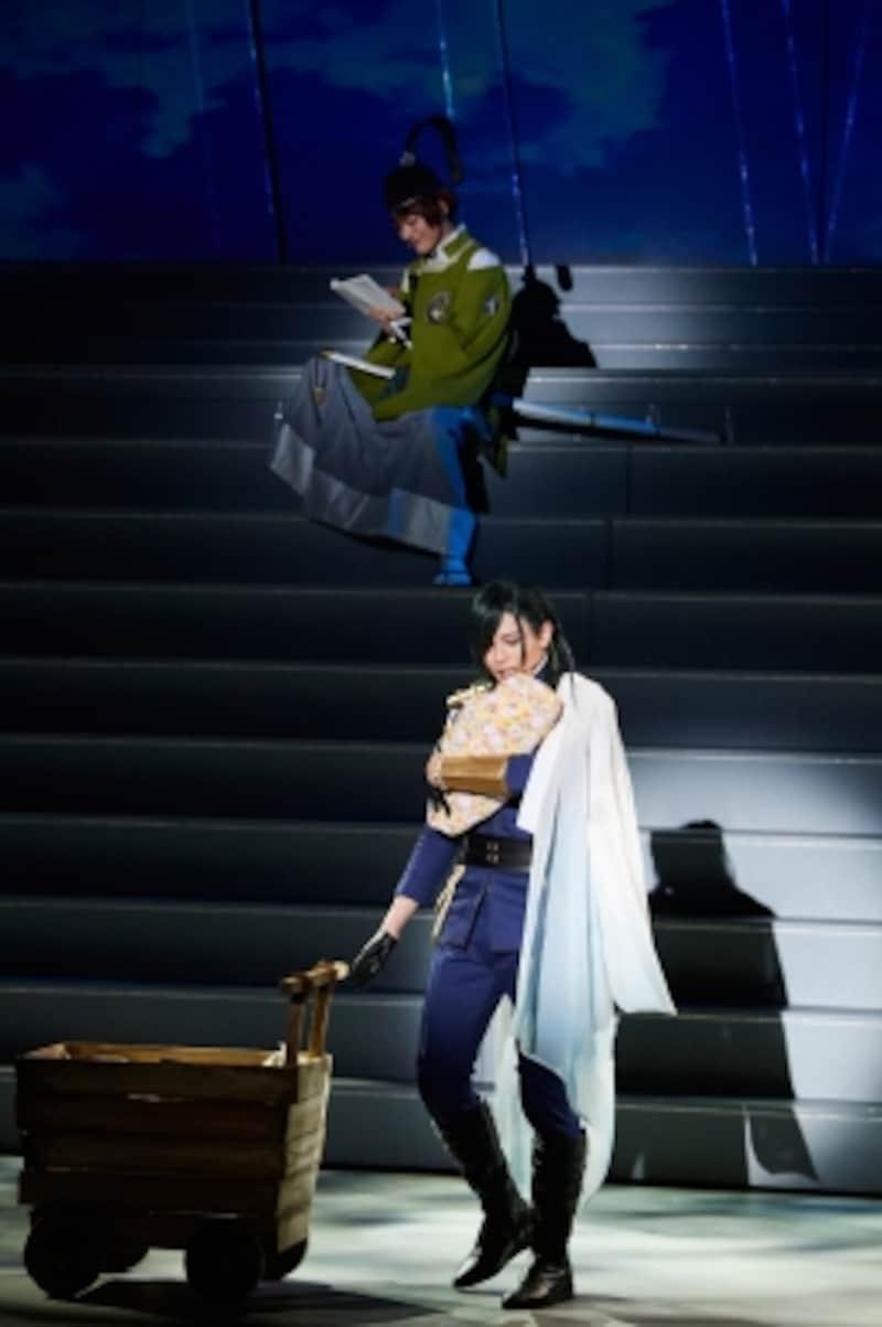 ミュージカル『刀剣乱舞』より。(C)ミュージカル『刀剣乱舞』製作委員会