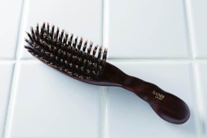 天然毛ブラシ