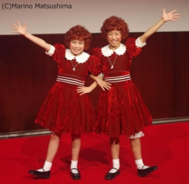 『アニー』2018製作発表にて。(C)MarinoMatsushima