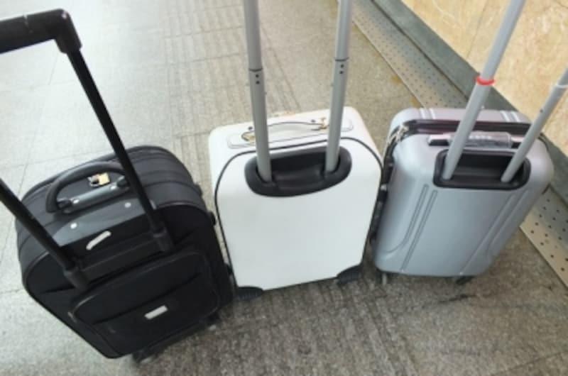 機内持ち込みスーツケース選び