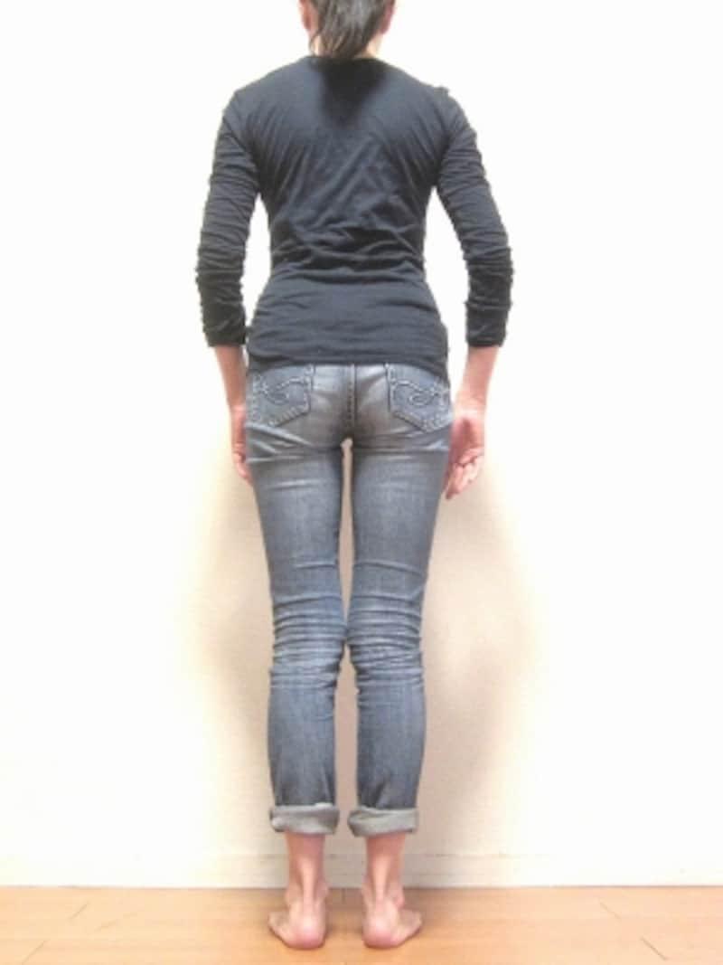 普段の姿勢