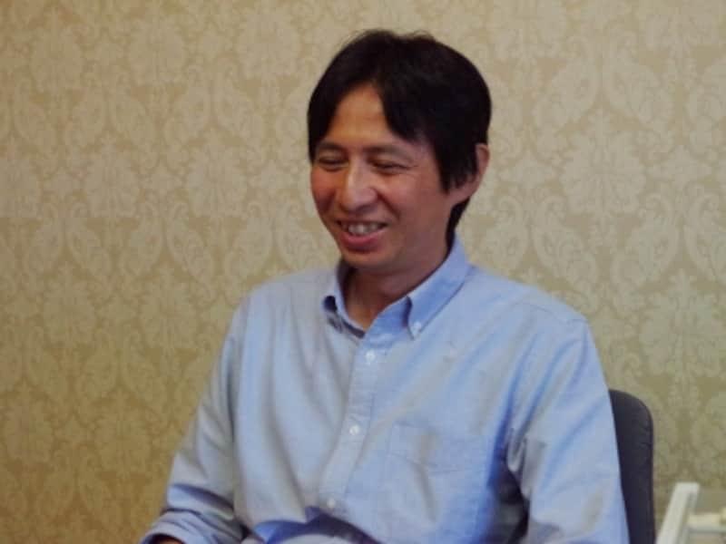 今回も快く取材を受けてくださった海老沢さん。写真は前回取材時のもの