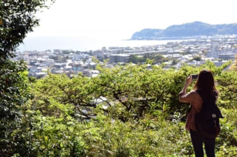 祇園山「見晴台」からの眺望