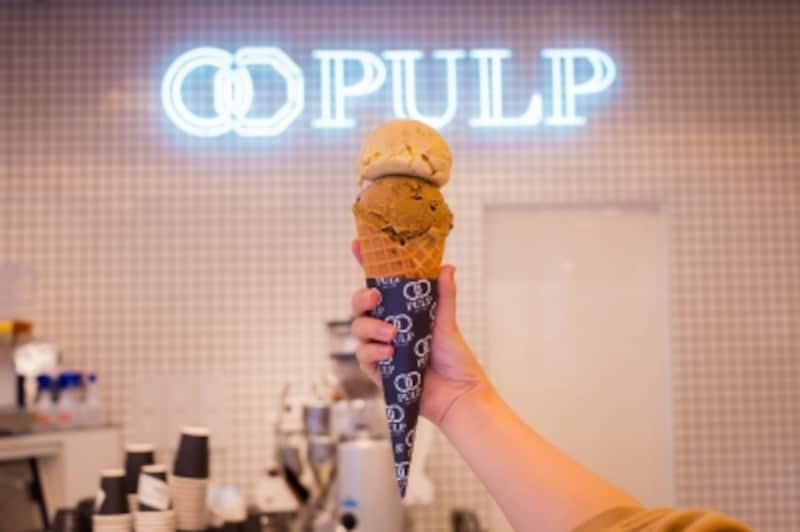 アイスクリームがおすすめ!