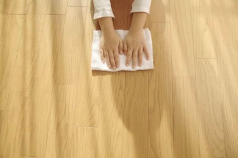 クッションフロア床掃除の方法とは?