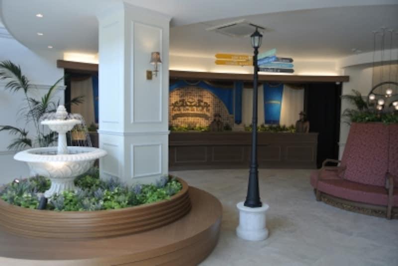 「パークタワー晴海」のレジデンシャルサロン内