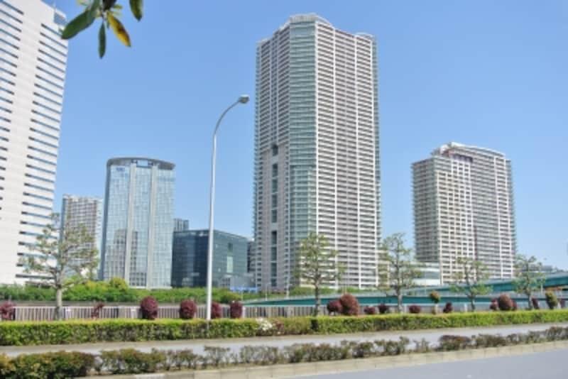 豊洲の注目マンションの一つ「パークシティ豊洲」