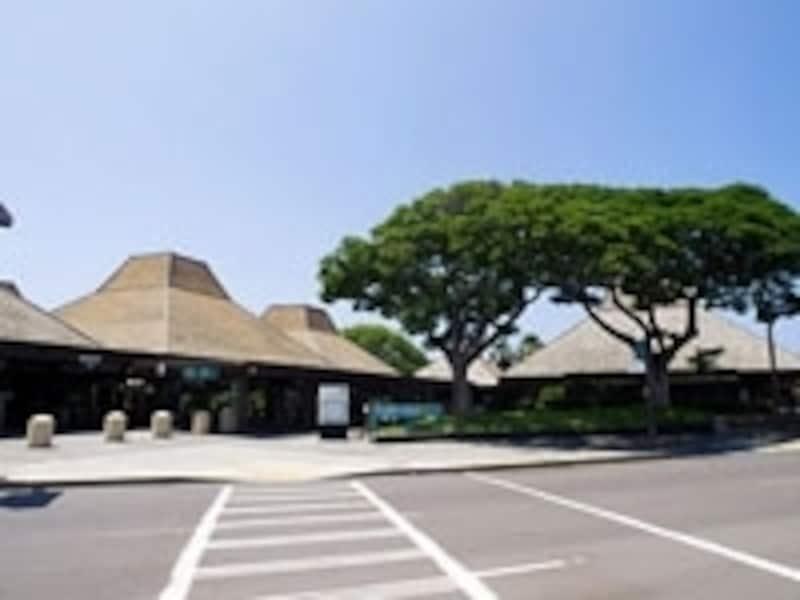 ハワイ島の玄関口、コナ国際空港