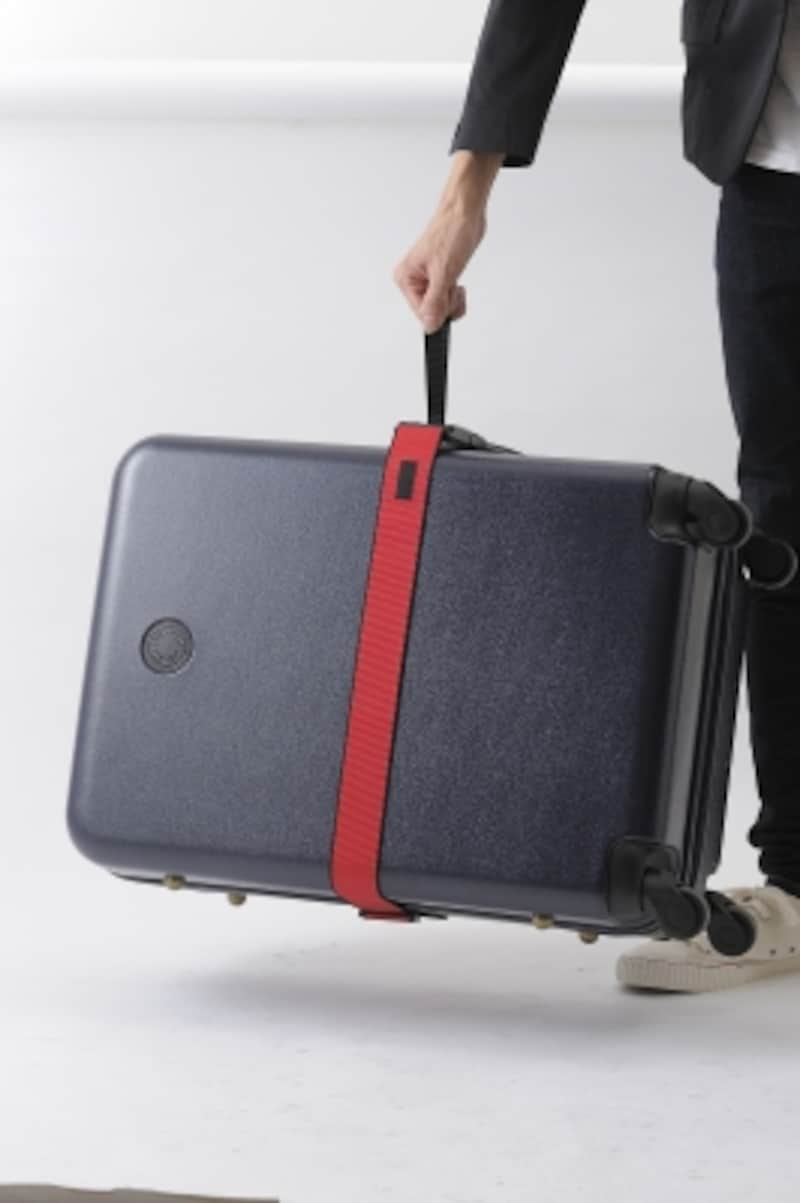 スケール付きスーツケースベルト