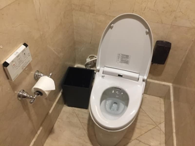高級ホテル内のトイレ
