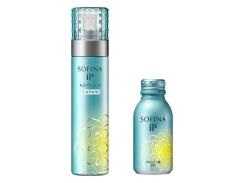 SOFINAiPの土台美容液とクロロゲン酸飲料