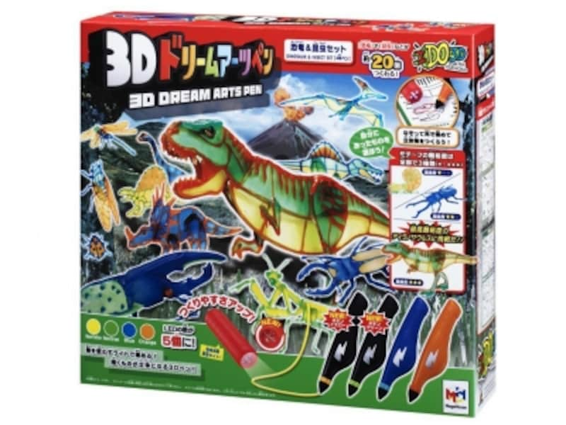 メガハウス/3Dドリームアーツペン恐竜&昆虫セット(4本)undefined(5184円)