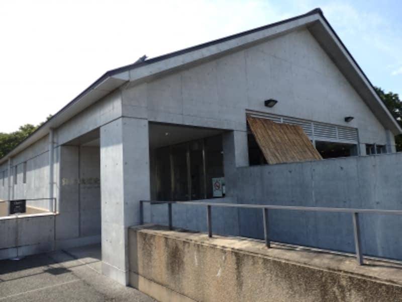外曲輪の一画に建つ鉢形城歴史館