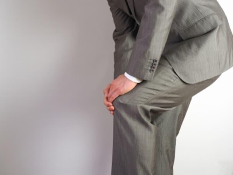 生活習慣の中に膝痛を起こす要因がある場合が多いです