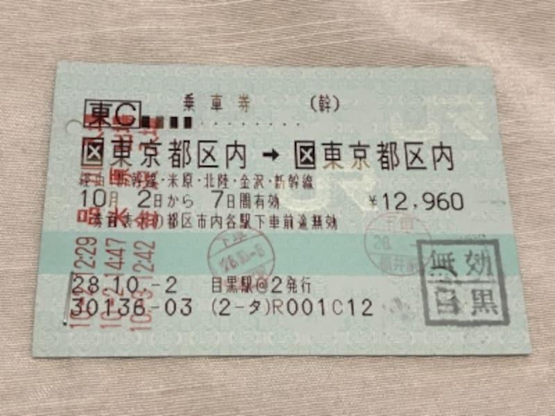 これが一筆書き切符だ!