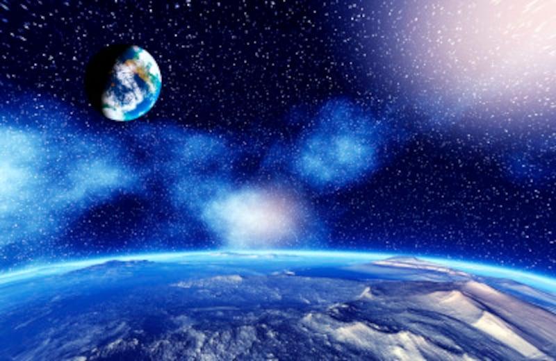 「天文単位」は、太陽系の中を測るのに便利な単位。