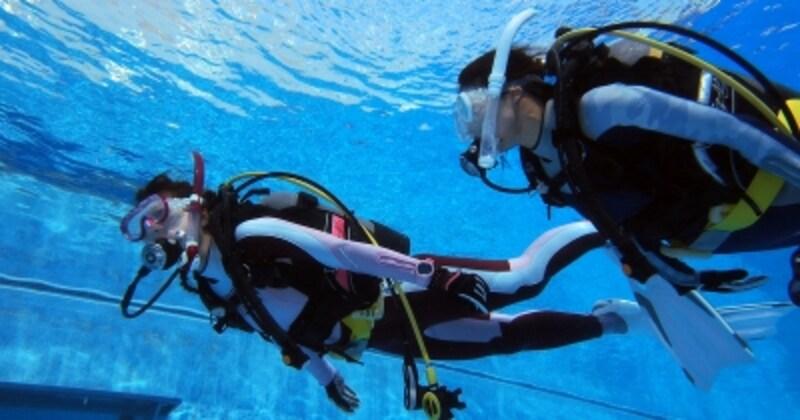ダイビングでの、水温に適したウェットスーツの選び方とは