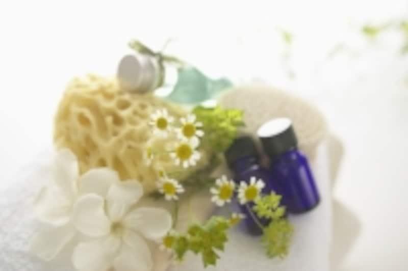 焼きミョウバンとアロマオイルのダブル効果でお風呂が楽しくなります