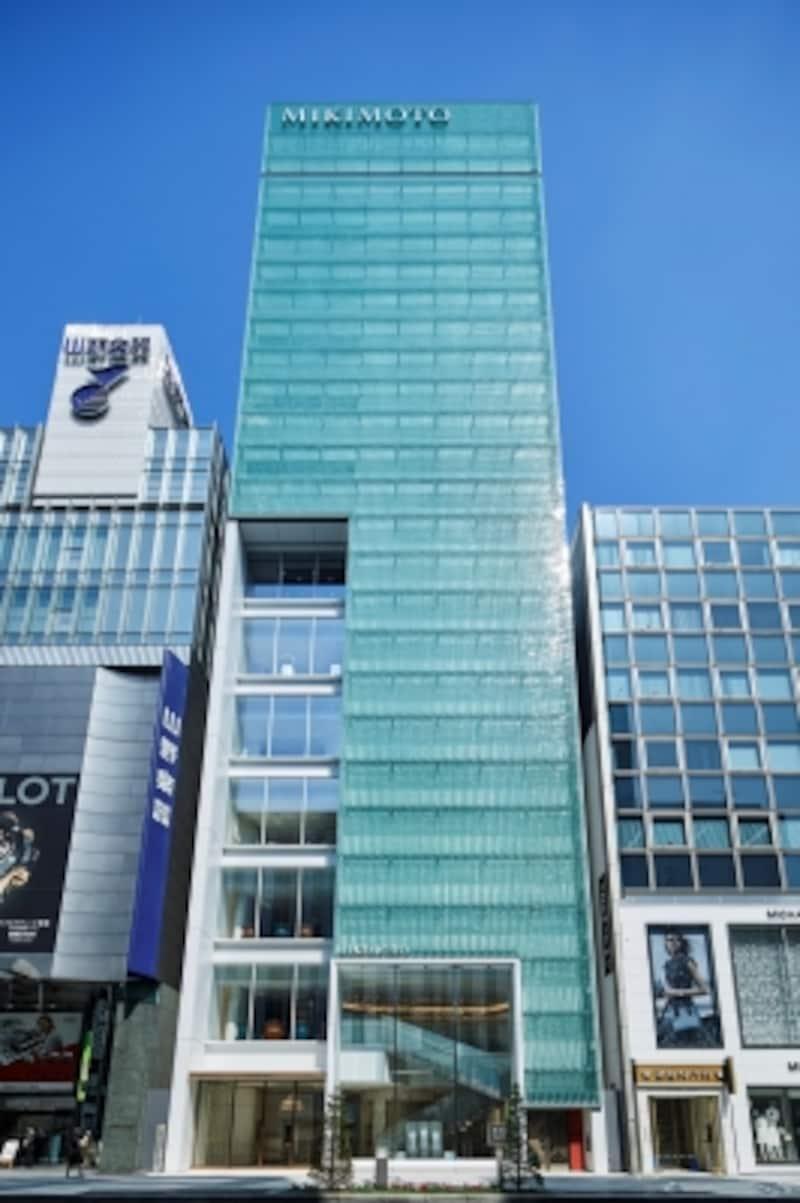 銀座4丁目本店外観
