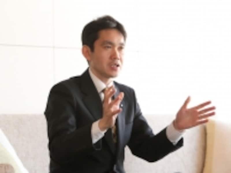 三井ホームundefined技術研究所undefined研究開発グループundefinedチーフマネージャーの池澤仁志さん(1級建築士)