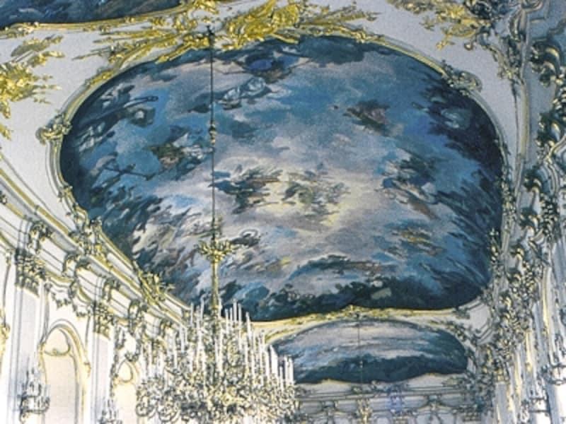 フレスコ画家グレゴリオ・グリエルミの天井画