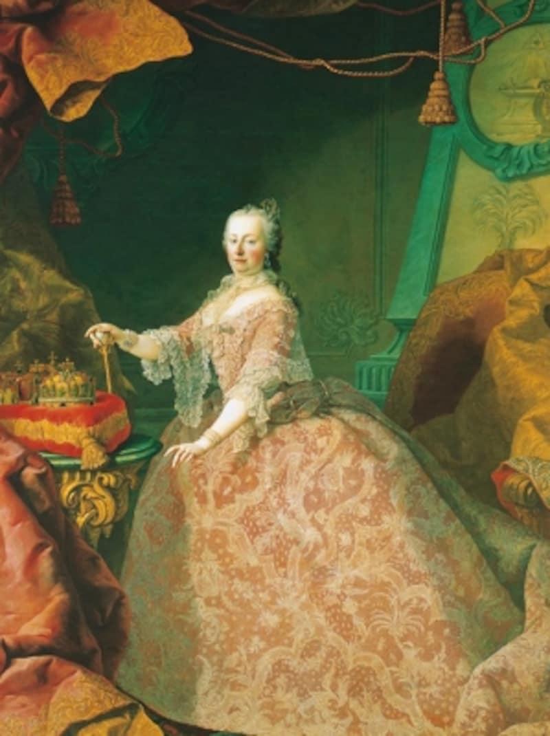 マルティン・ファン・マイテンス「マリア・テレジアの肖像」