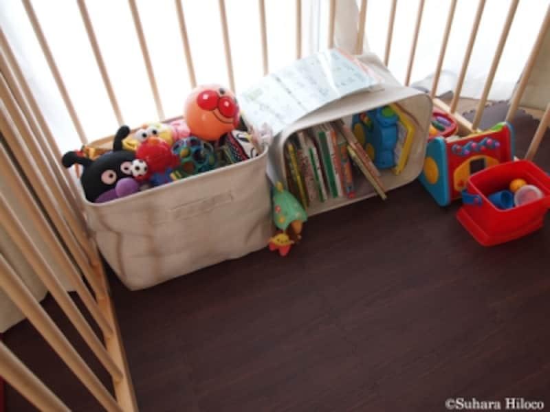 ベビー収納実例に学ぶ:無印良品で片付く収納