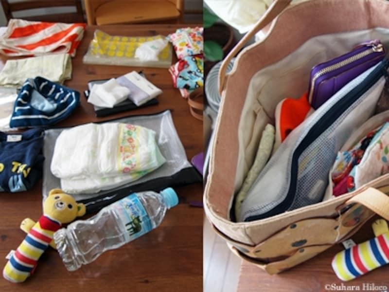 ベビー収納実例に学ぶ:マザーズバッグの整理収納