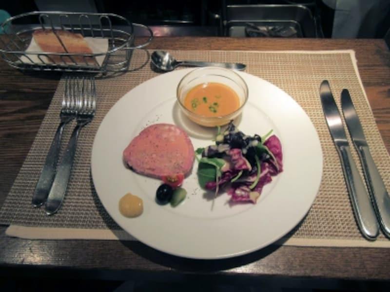 セラヴィーナガノ(CESTLAVIENAGANO)前菜とプティスープ