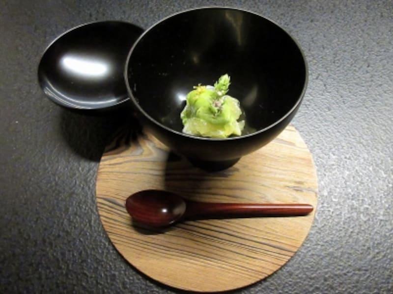 星のや東京 Nipponキュイジーヌ 晩柑と大葉