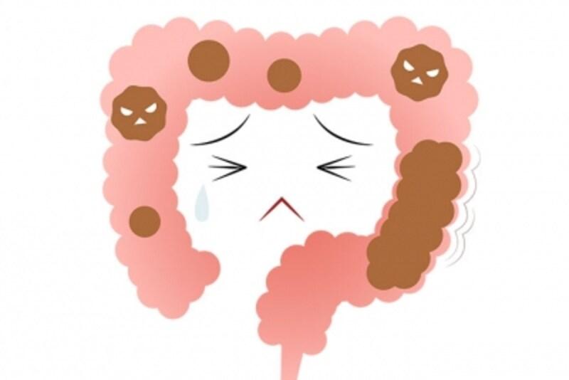 腸内で悪玉菌が悪さをすると…