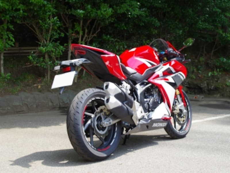 CBR250RRundefinedリアビュー