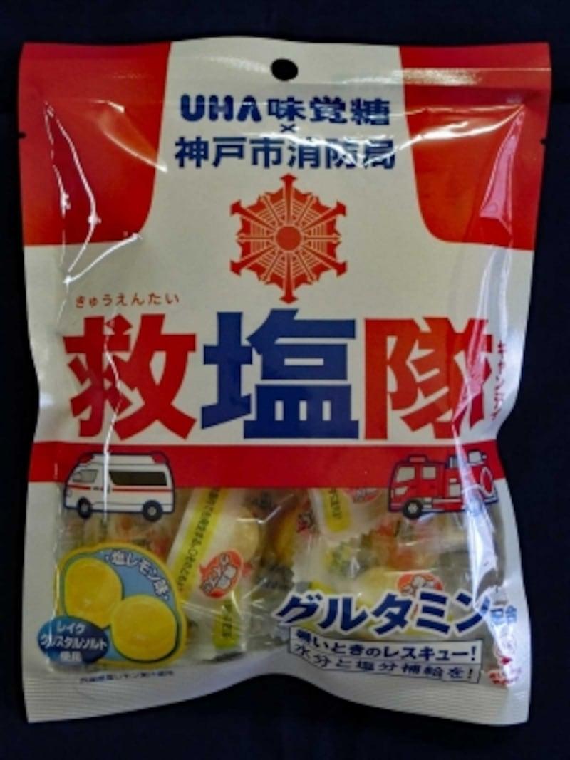 UHA味覚糖神戸市消防局救塩隊